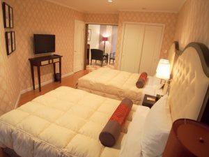 Hillcrest Villas5番館 B号室寝室③