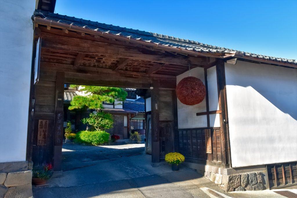 茂田井宿・大澤酒造